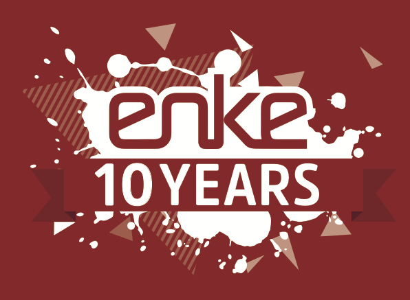 enke 10 Year DotGood Logo A